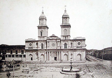 Plaza de San Francisco en 1892